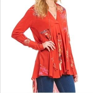 Free People Butterflies Tunic